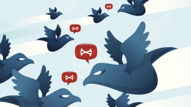 Guerra en Twitter